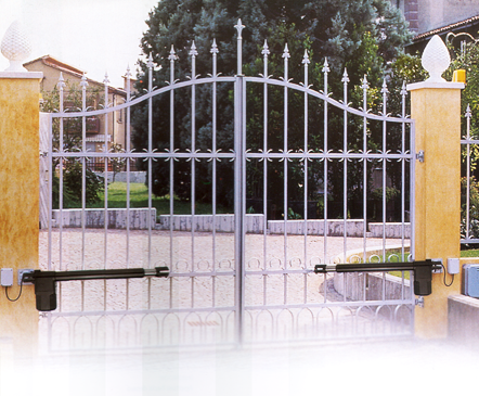 Puertas autom ticas grossmann cercas electrificadas for Brazos puertas automaticas